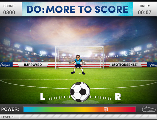 Screenshot : Degree Soccer