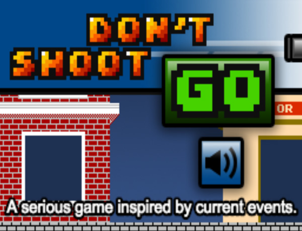 Screenshot : Don't Shoot Game