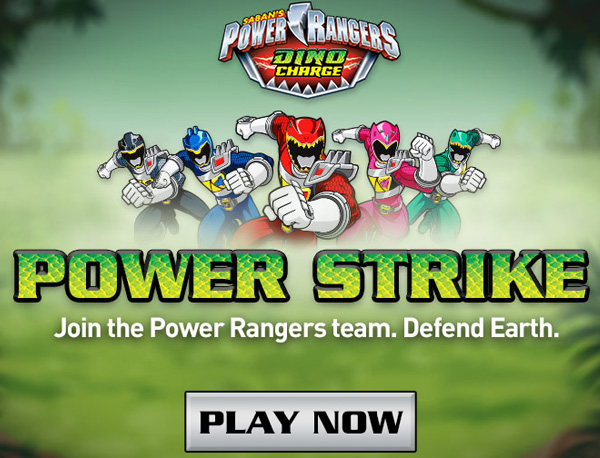 Screenshot : Power Rangers Power Strike
