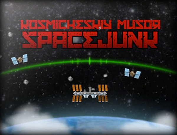 Screenshot : Space Junk Game