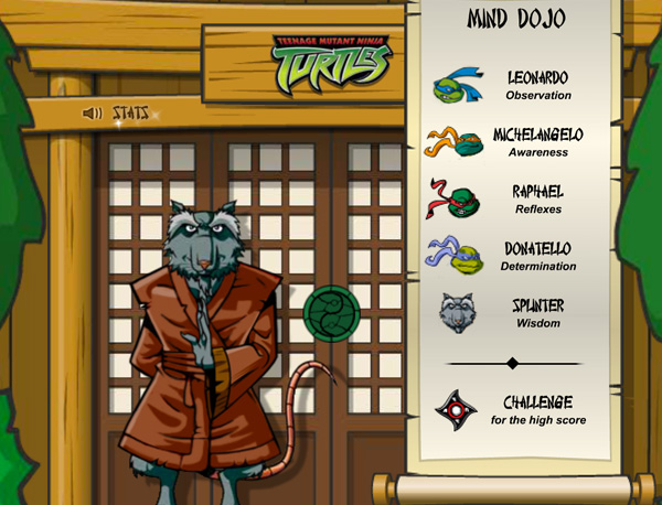 Screenshot : TMNT Mind Dojo
