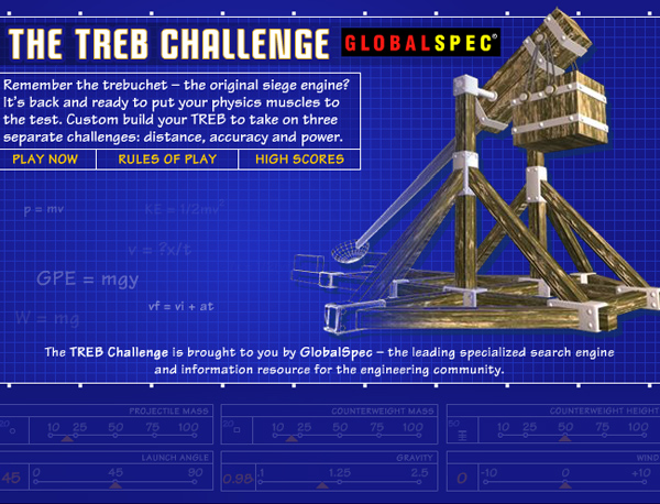Screenshot : Global Spec - Trebuchet Challenge