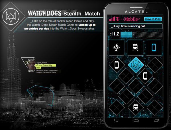 Screenshot : Watchdogs Game